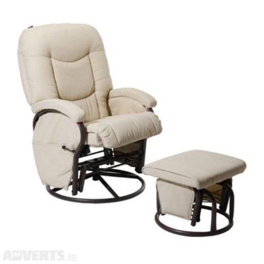 Babylo Cloud 9 Glider Chair U0026 Footstool