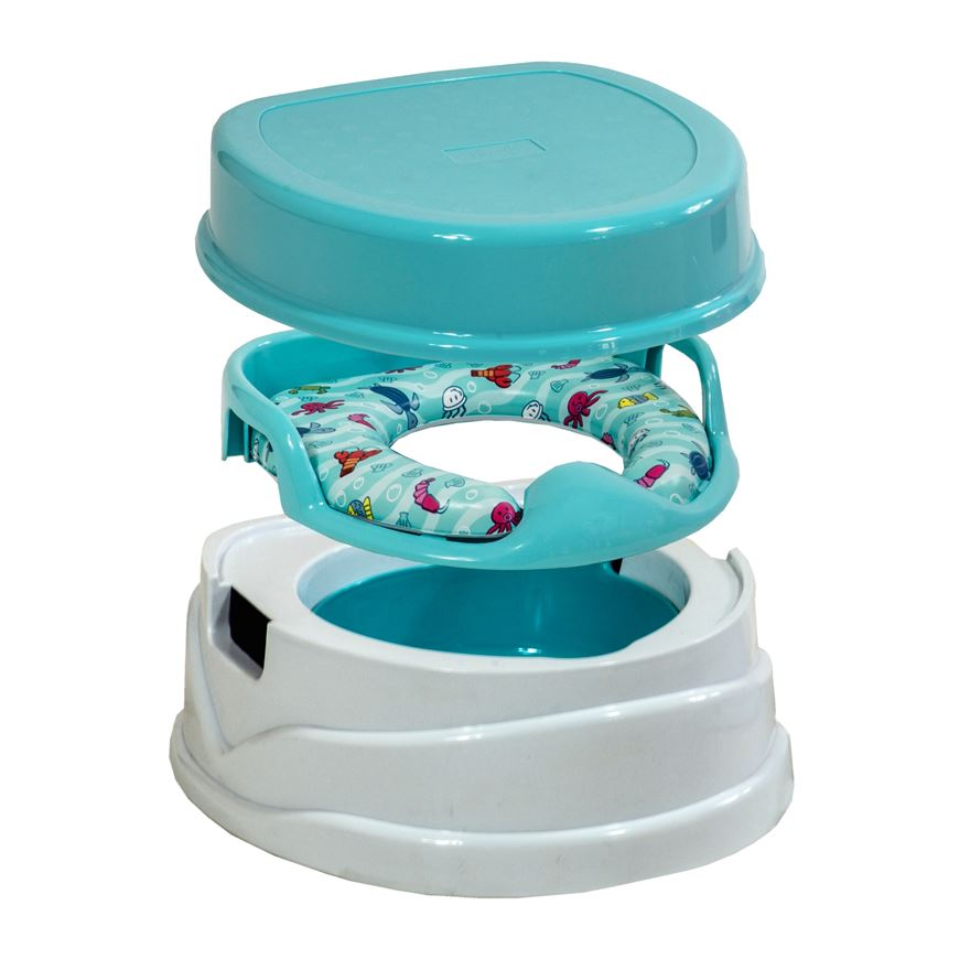 Babylo 3 In 1 Potty Trainer Blue Best For Baby