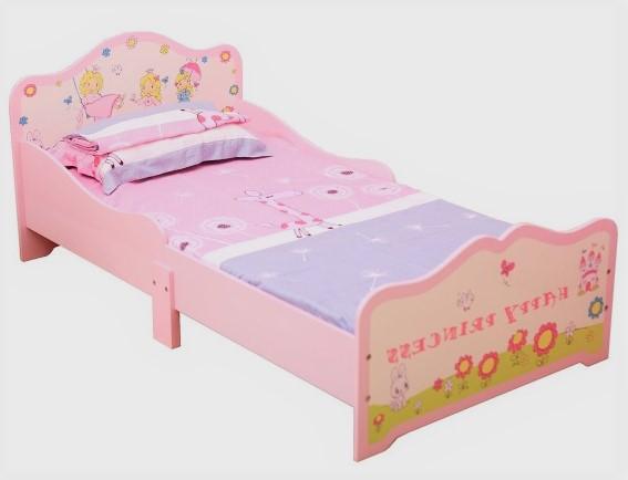 Babylo Princess Toddler Bed Pink