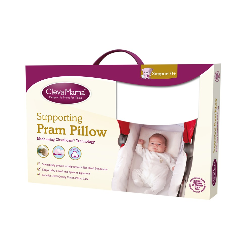 Clevamama Pram Pillow