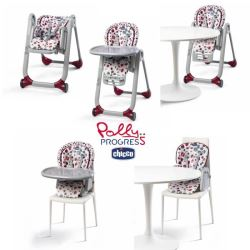 Chicco Polly Progress Highchair Sage